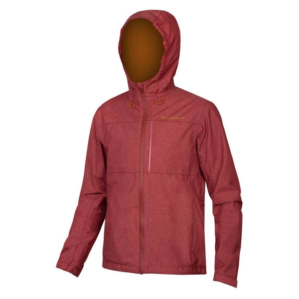 Hummvee Waterproof Hooded Jacket - Cocoa