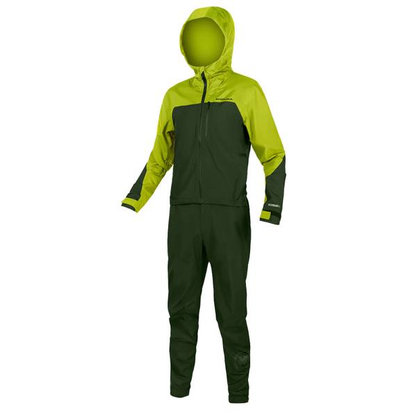 SingleTrack One Piece - Lime Green