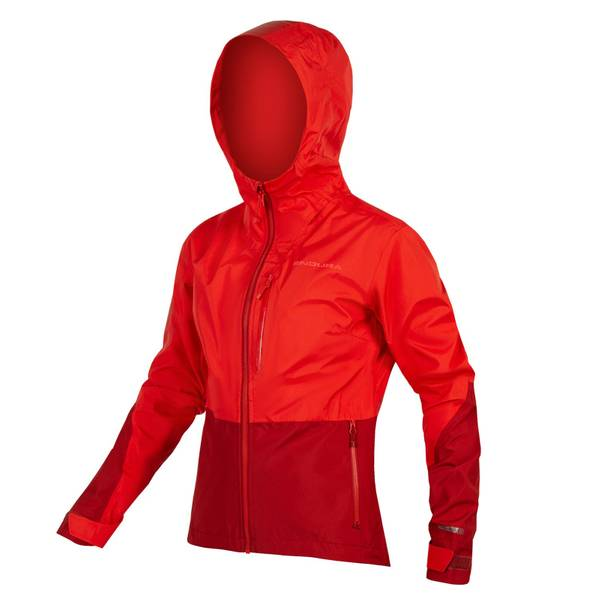 Women's SingleTrack Jacket - Hi-Viz Coral