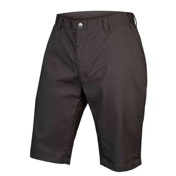 Hummvee Chino Short with Liner Short - Grey