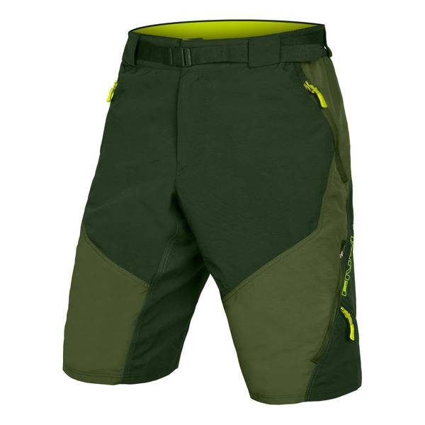 Hummvee Short II with liner - Olive Green