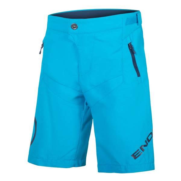 Kids MT500JR Short with Liner - Electric Blue