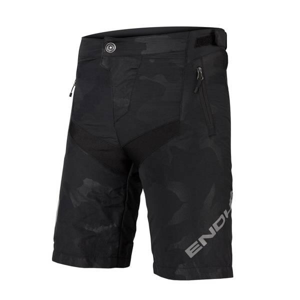 Kids MT500JR Short with Liner - Black Camo