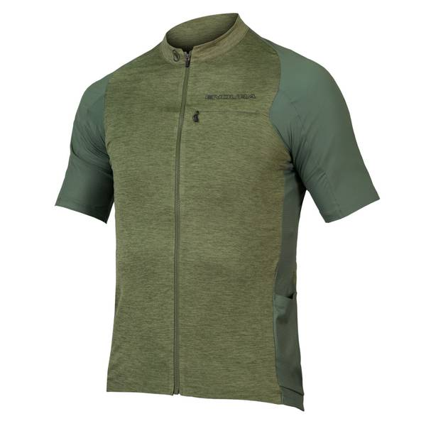 GV500 Reiver S/S Jersey - Olive Green