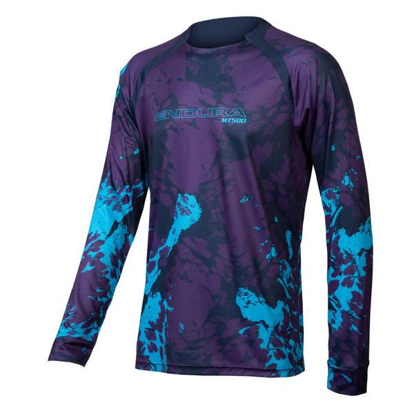 MT500 Animo L/S Tee - Electric Blue