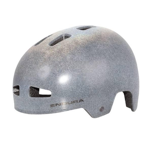 PissPot Helmet - Reflective Grey