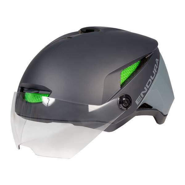 SpeedPedelec Visor Helmet - Grey
