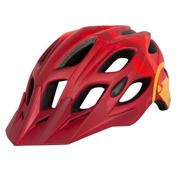 Hummvee Helmet - Red