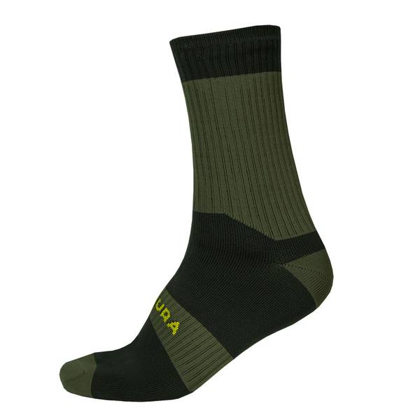 Hummvee Waterproof Socks II - Forest Green