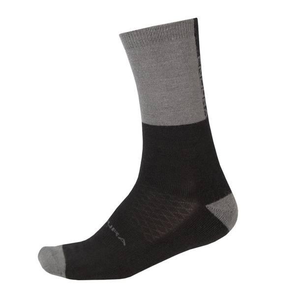 BaaBaa Merino Winter Sock - Black