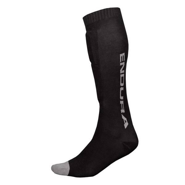 SingleTrack Shin Guard Sock - Black