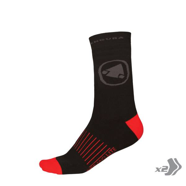 THERMOLITE® II Sock (Twin pack) - Black