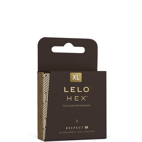 LELO HEX Condoms Respect XL (3 Pack)