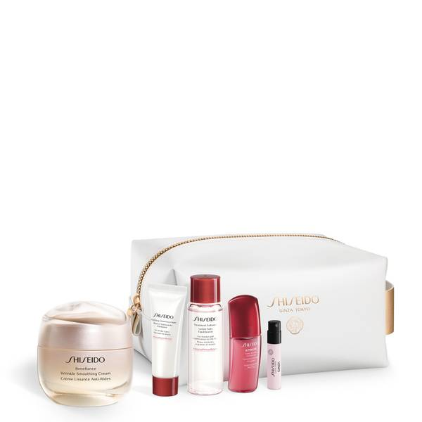 Shiseido Benefiance Wrinkle Smoothing Cream Pouch Set