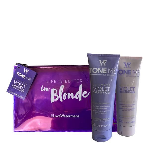 Tone Me Shampoo & Conditioner Including Free Make Up Bag