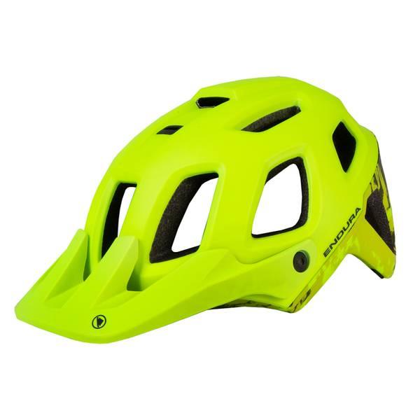 SingleTrack Helmet II - Hi-Viz Yellow
