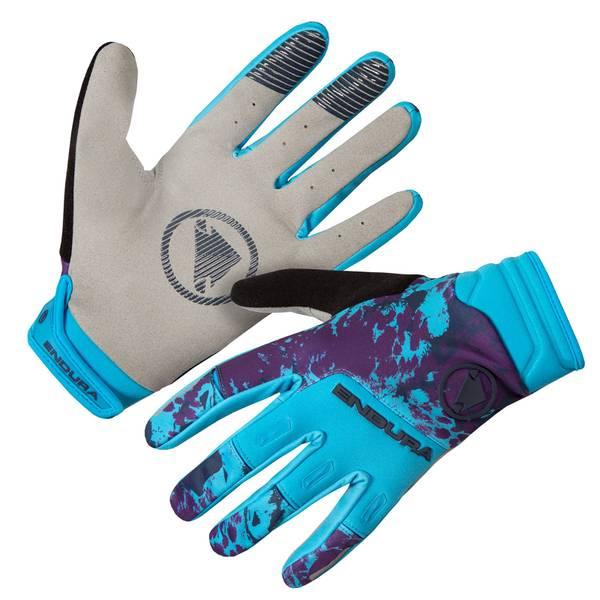 SingleTrack Windproof Glove - Electric Blue