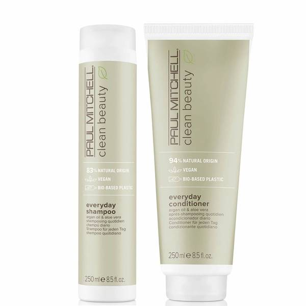 Paul Mitchell Clean Beauty Everyday Shampoo and Conditioner Set