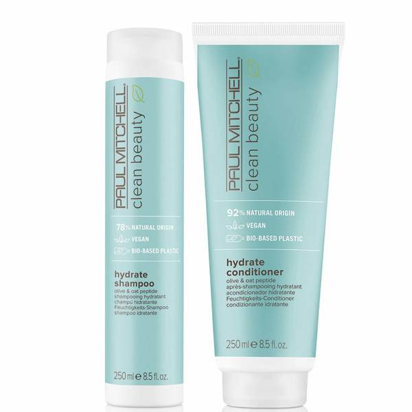 Paul Mitchell Clean Beauty Hydrate Shampoo and Conditioner Set