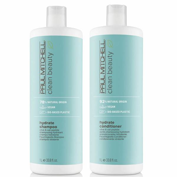 Paul Mitchell Clean Beauty Hydrate Shampoo and Conditioner Supersize Set