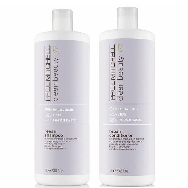 Paul Mitchell Clean Beauty Repair Shampoo and Conditioner Supersize Set