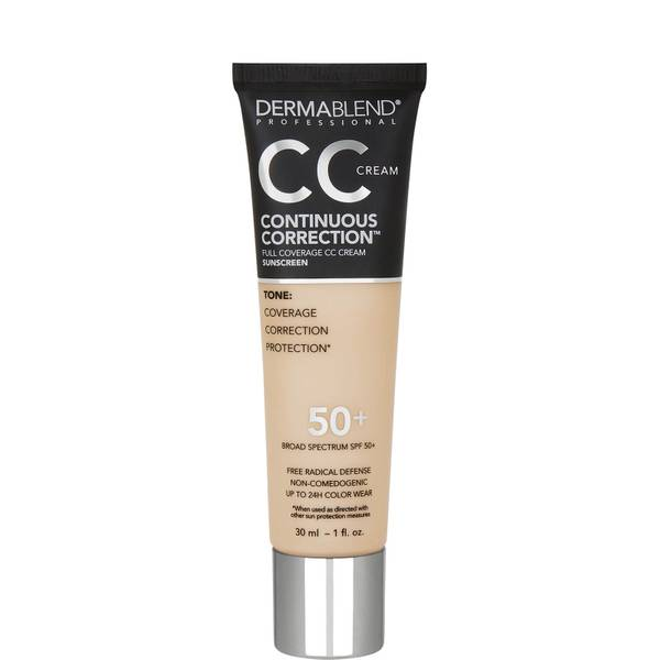 Dermablend Continuous Correction CC Cream SPF 50 1 fl. oz.