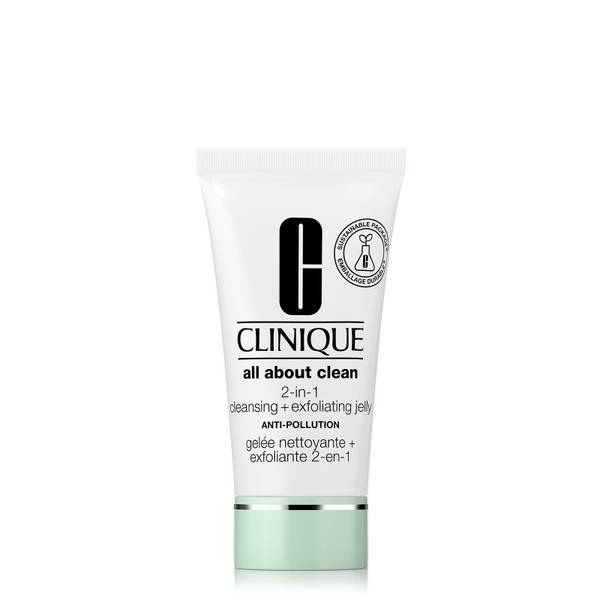 Clinique All About Clean 2-in-1 Cleansing and Exfoliating Jelly Anti-Pollution 30ml