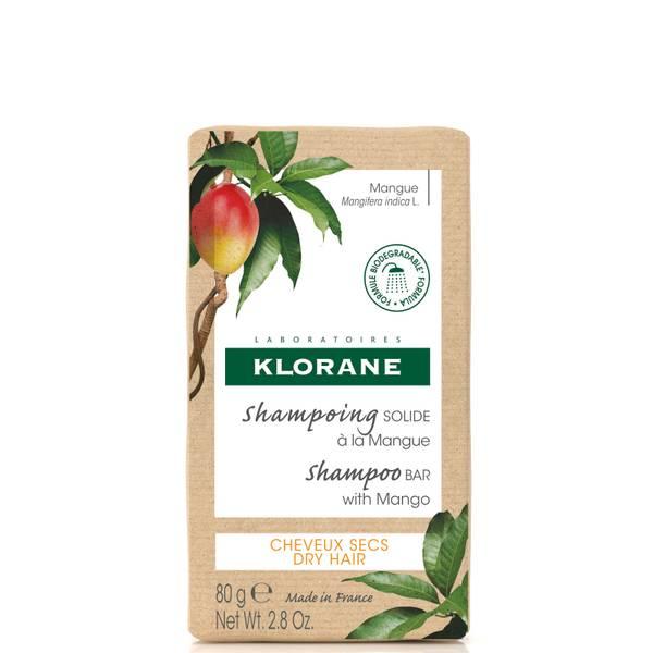 KLORANE Θρεπτικό στερεό σαμπουάν με μάνγκο για ξηρά μαλλιά 80g