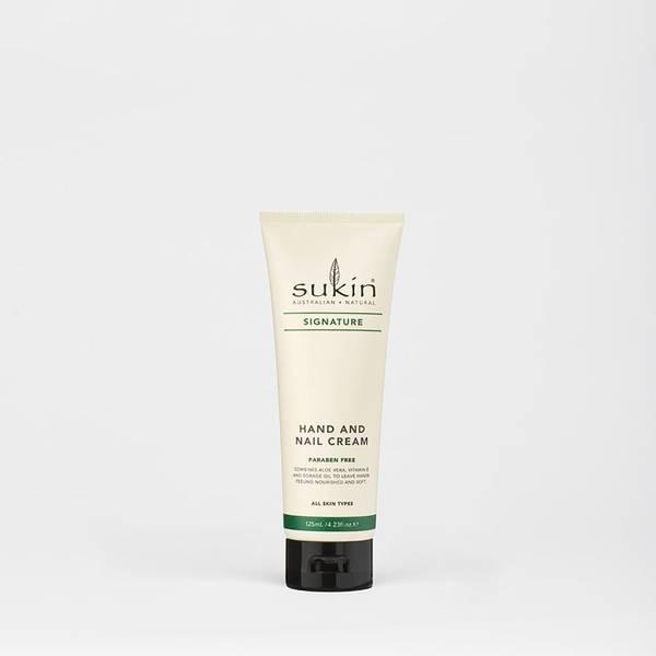 Sukin Hand & Nail Cream Tube - Signature 125ml