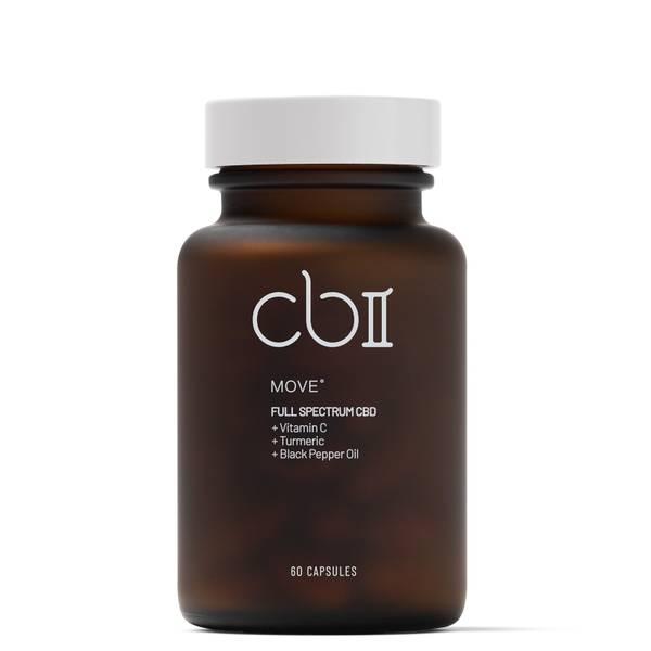 CBII Move CBD Cápsulas con Vitamina C 157g