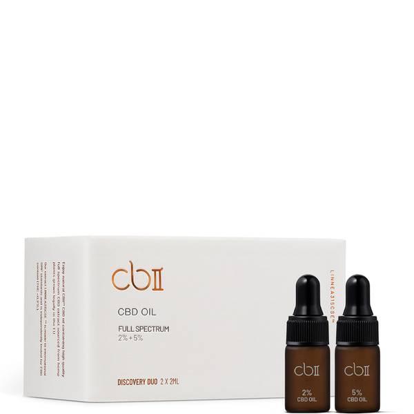 CBII Discovery Duo CBD Oil Starter Kit