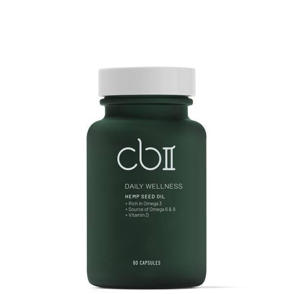 CBII Wellness Cápsulas de semillas de cáñamo con vitamina D 157g