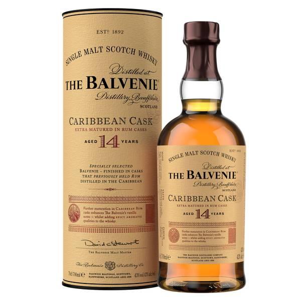The Balvenie Caribbean Cask 14 Year Old Single Malt Scotch Whisky 70cl