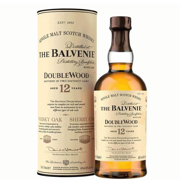The Balvenie DoubleWood 12 Year Old Single Malt Scotch Whisky 70cl