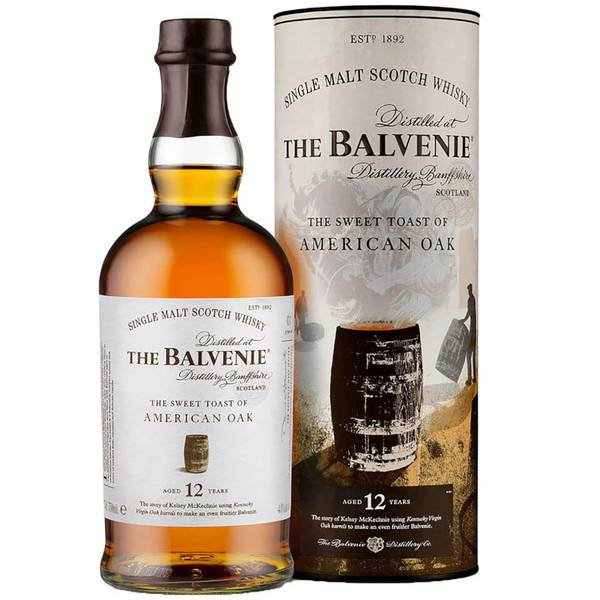 The Balvenie Stories The Sweet Toast of American Oak 12 Year Old Single Malt Scotch Whisky 70cl