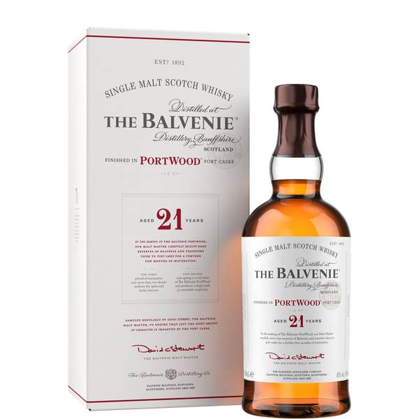 The Balvenie PortWood 21 Year Old Single Malt Scotch Whisky 70cl