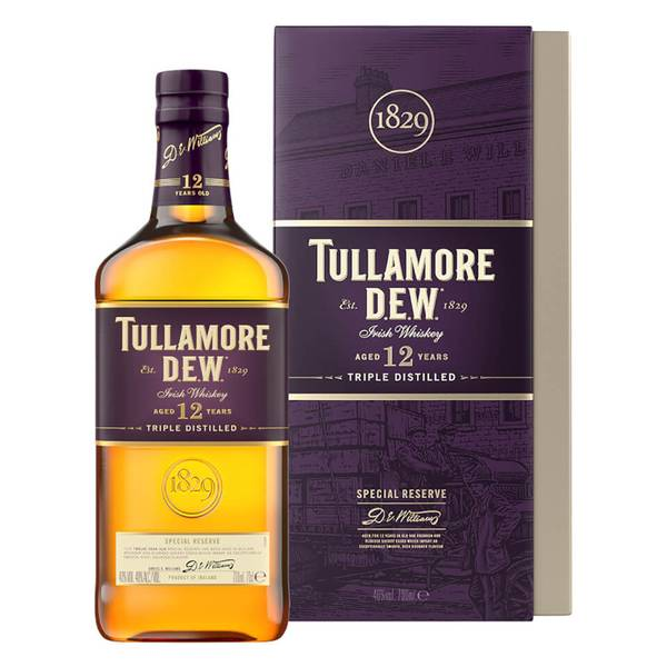 Tullamore D.E.W. 12 Year Old Special Reserve Irish Whiskey 70cl