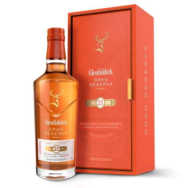 Glenfiddich 21 Year Old Single Malt Scotch Whisky 70cl