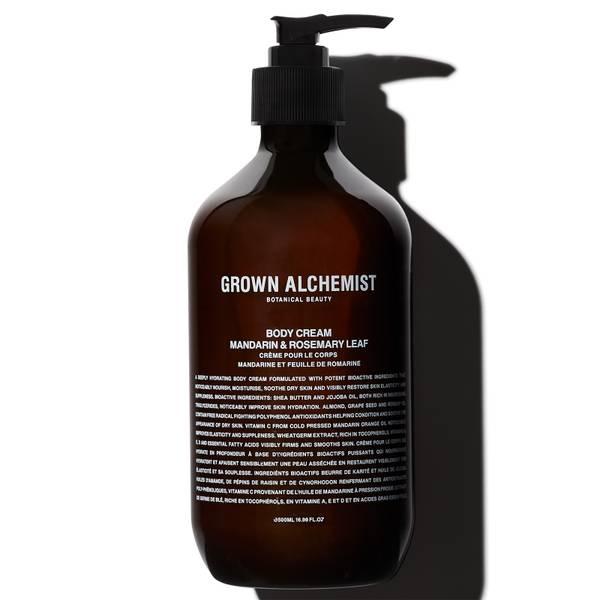 Grown Alchemist Body Cream - Mandarin, Rosemary Leaf 500ml