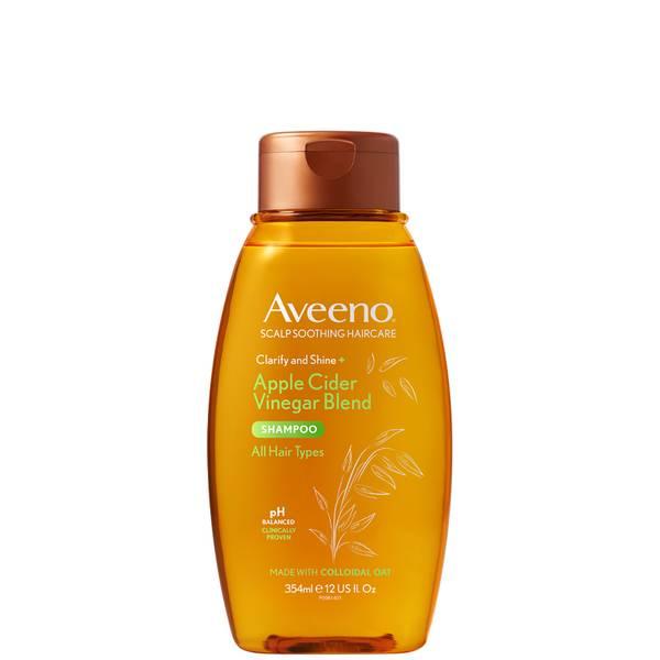 Aveeno Scalp Soothing Haircare Clarify and Shine Apple Cider Vinegar Shampoo 354ml