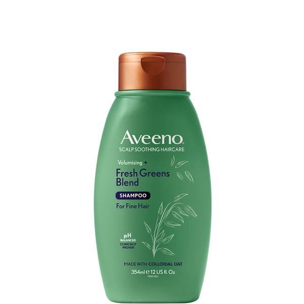 Aveeno Scalp Soothing Haircare Volumising Fresh Greens Blend Shampoo 354ml