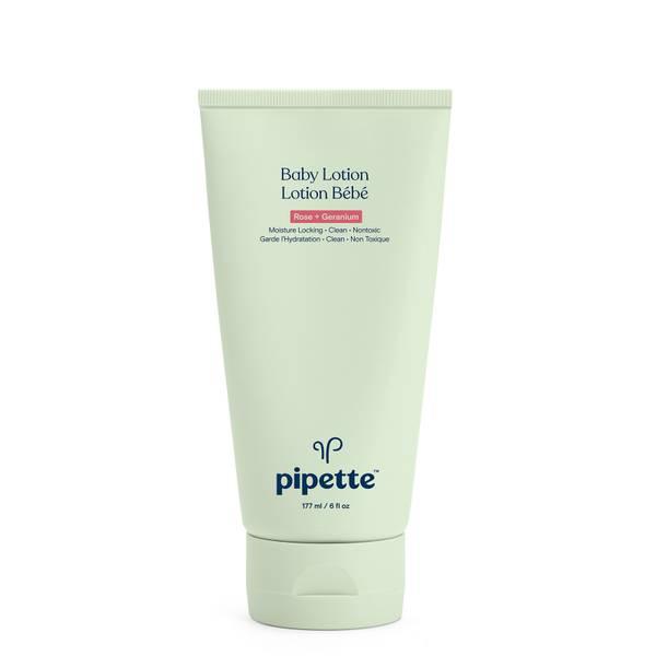 Pipette Baby Lotion - Rose + Geranium 6 fl oz