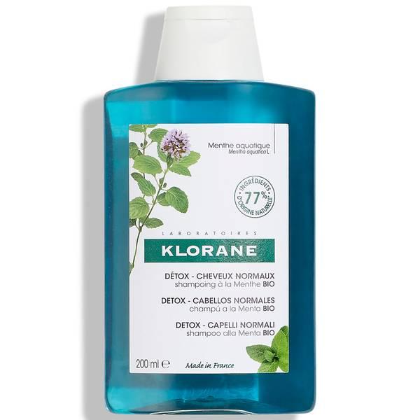 KLORANE Detox Shampoo with Organic Aquatic Mint 200ml