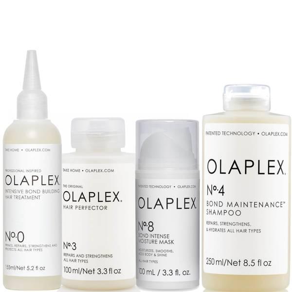 Olaplex No.0, No.3, No.4, No.8 Bundle