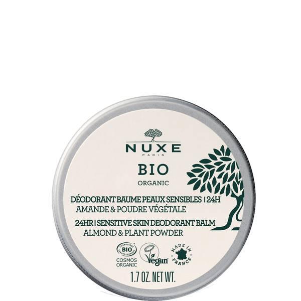 Déodorant Baume Peaux Sensibles 24H, NUXE BIO 50 gr