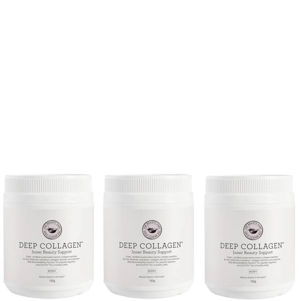 The Beauty Chef Deep Collagen Inner Beauty Support Berry Trio (Worth $207.00)