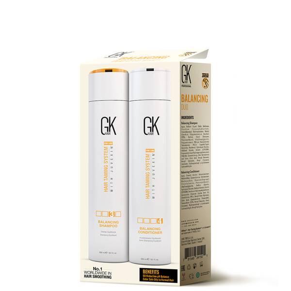 GKhair Balancing Shampoo and Conditioner 300ml Duo