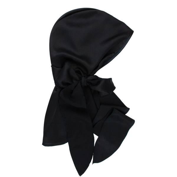 Kitsch Satin Sleep Cap - Black