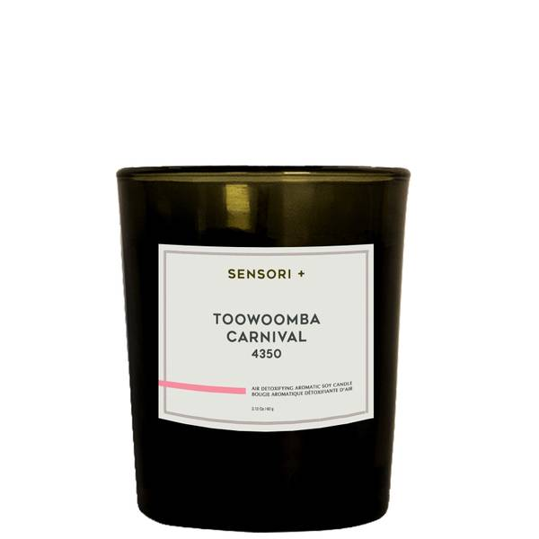 SENSORI+ Air Detoxifying Aromatic Soy Candle - Toowoomba Carnival 60g