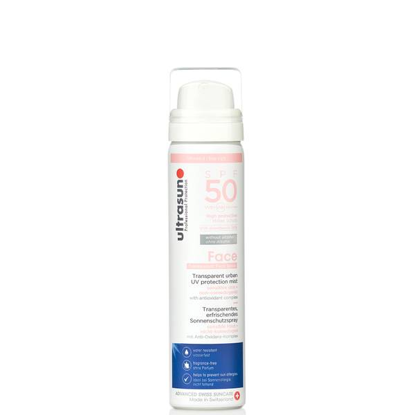 Ultrasun SPF50 UV Face & Scalp Mist 75ml